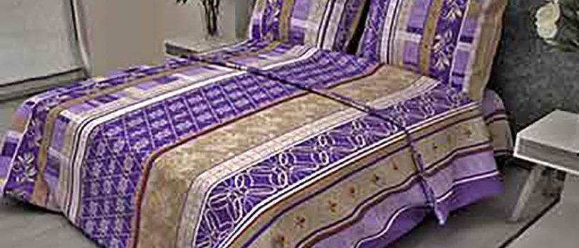 КПБ бязь 1,5сп Аккорд фиолетовый