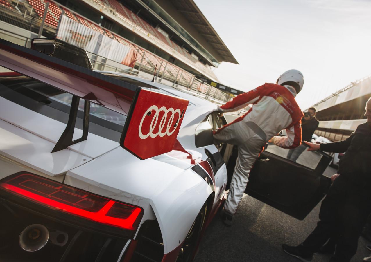Audi Track Attack Event Circuit Barcelona