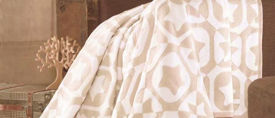 "Плед ""Cotton"", 60% х/б, 40% акрил (180х220)"
