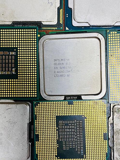 Процессоры без ножек (c элементом охлаждения)