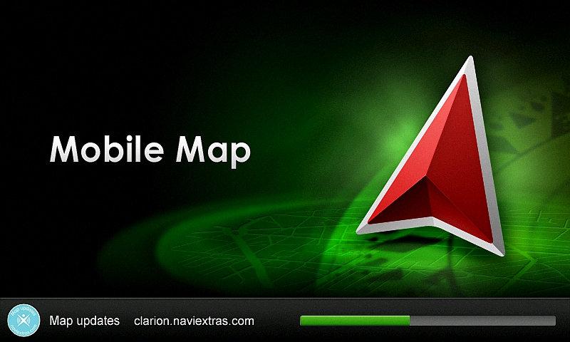 Atualização de GPS Multimídia Clarion