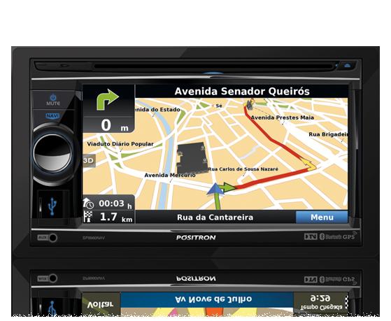 Atualização de GPS Multimídia genérica