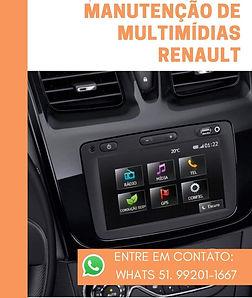Conserto de Multimídias Renault Media Nav