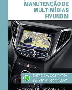 Conserto de Multimídias originais Hyundai e Kia