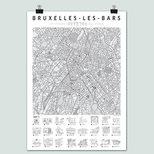 La Carte Bruxelles-les-bars