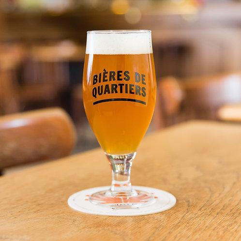 Verre 'Bières de Quartiers'