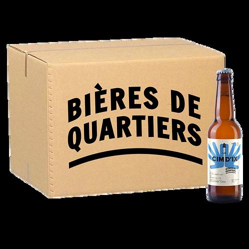 Caisse 'Un Quartier au Choix' [bières permanentes] 24 x 33cl