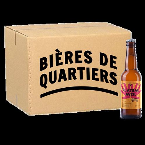 Caisse 'Un Quartier au Choix' [bières temporaires] 24 x 33cl