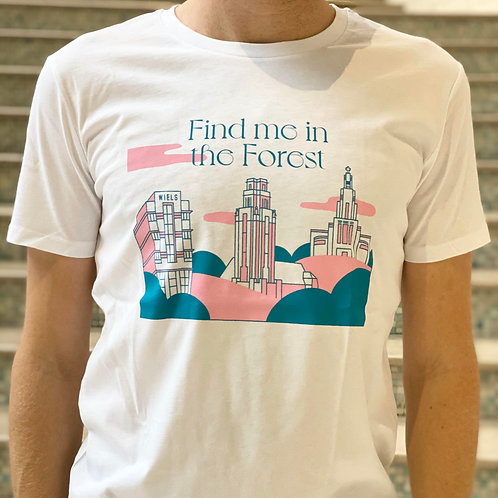 T-Shirt 'Find me in the Forest'