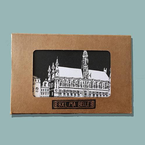 Cartes postales « Bruxelles ma belle » - Pochette de 10 cartes