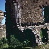 Doorways in the keep, north court Doorwa