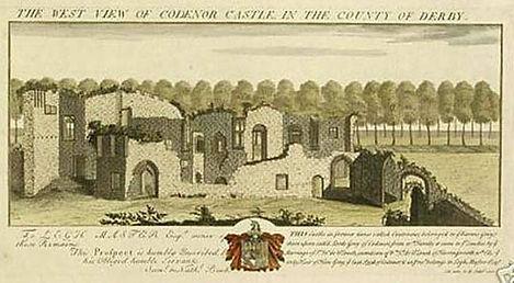 Picture of Codnor Castle in 1727.jpg