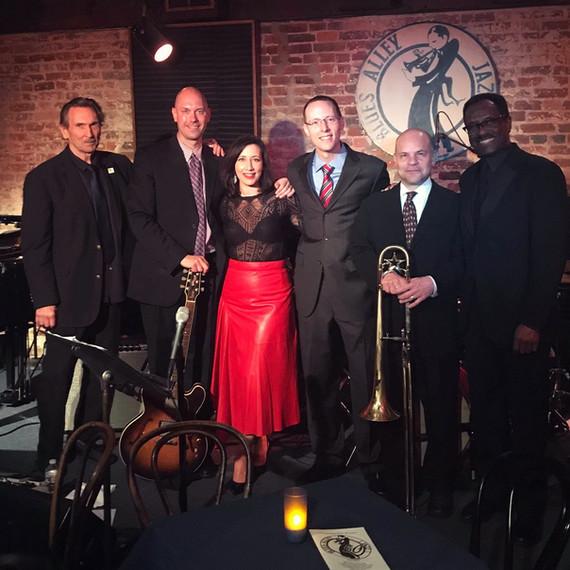Mason Jazz Faculty at Blues Alley