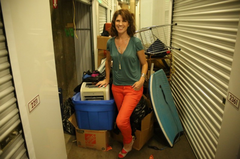 moving out of storage