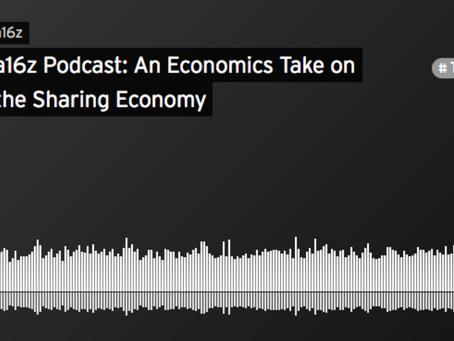 a16z Podcast – Sharing Economy, a Response to Arun Sundararajan