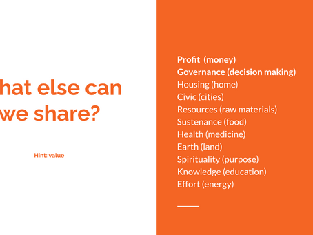 From the Sharing Economy to Sharing Value