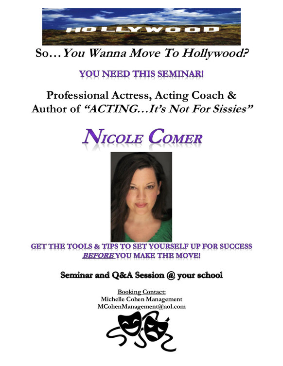Book me to speak at your school!