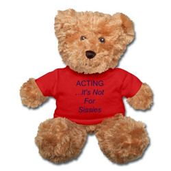 Bear with Red T-Shirt