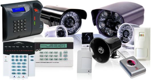 Sistema de segurança eletrônico