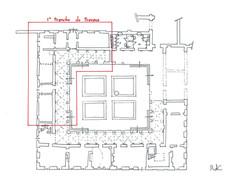 Plan de rez-de-chaussée ⓒ Régis Martin (ACMH)