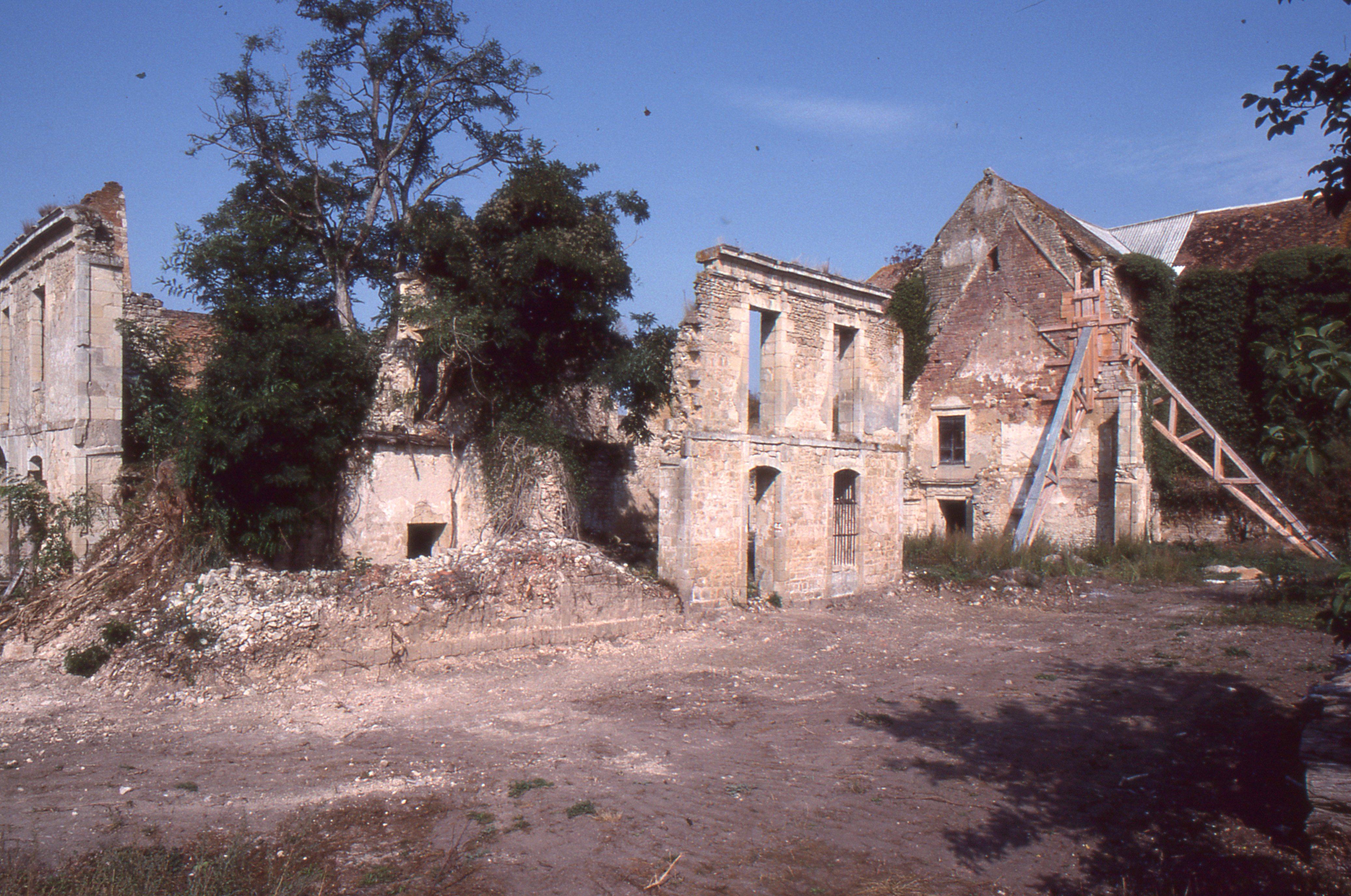17/09/1989 - Ruines du cloître