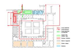 Projet d'aménagement du cloître ⓒ Régis Martin (ACMH)