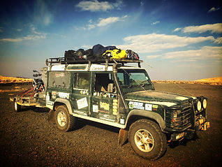 SA Adventure support Land Rover