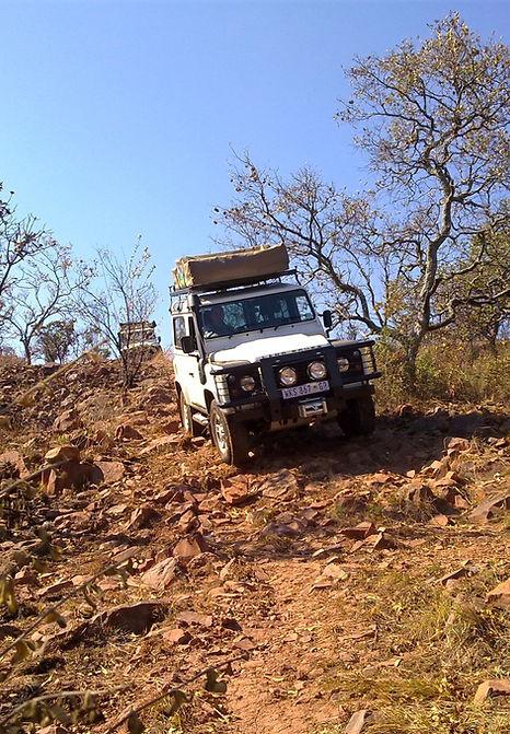 4x4 Training Johannesburg, 4x4 course, off road training