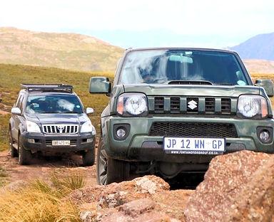 Suzuki Jimny 4x4 tours, Eastern Cape High mountain passes, Ben Ten Eco Challenge Routes, Toyota 4x4 Tours