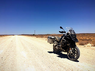 Adventure bike tour
