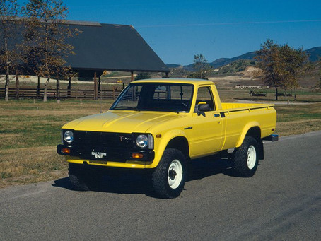 The Toyota Hilux, 3rd Generation