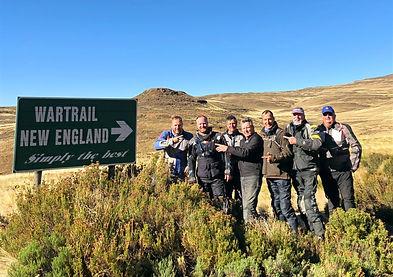 War Trail High Passes Motorcycle, Adventure bike tour