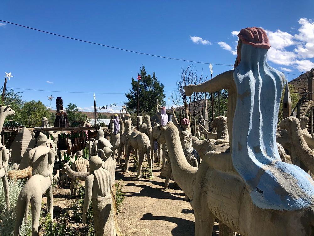 Pilgrims procession Art Brut