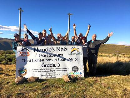 Naudes Nek 4x4 Route, third highest pass in South Africa, 4x4 up Naudes Nek Pass