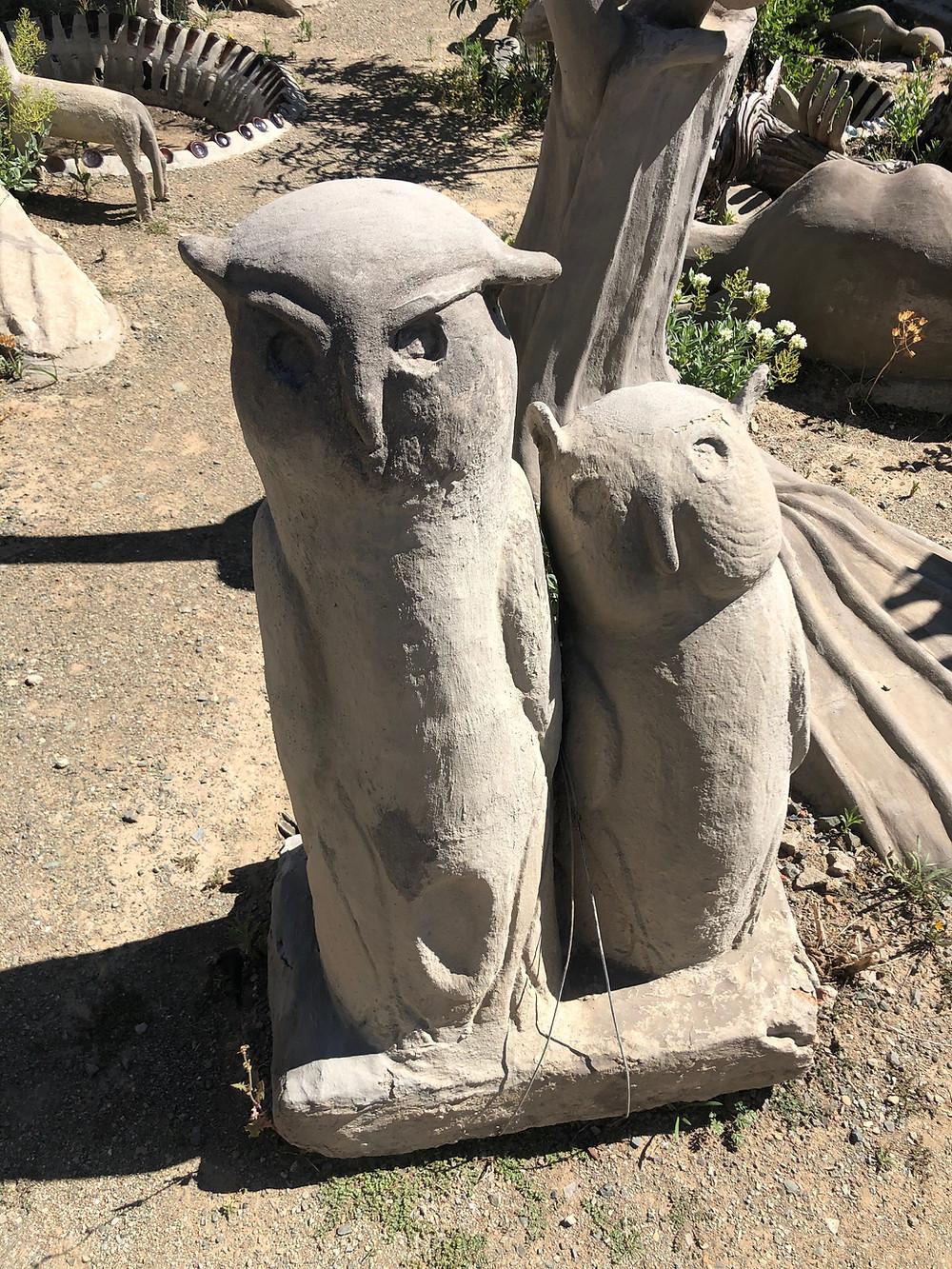 Owl, Cement Owl, Naïve art, Art Brut, Travel