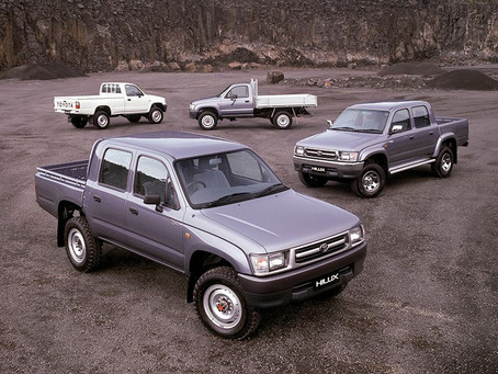 The Toyota Hilux, 6th Generation