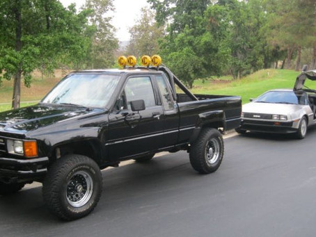 The Toyota Hilux, 4th Generation. The Marty McFly Edition...