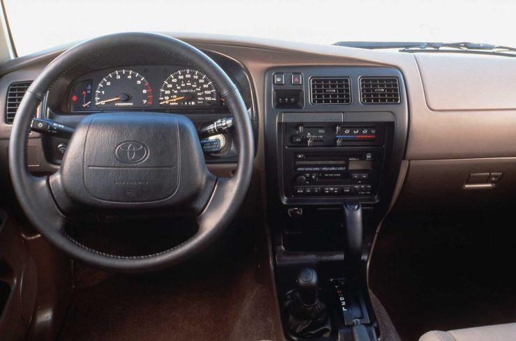 Toyota Hilux Interior