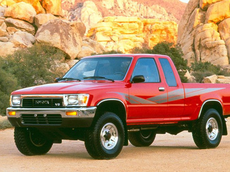 The Toyota Hilux, 5th Generation