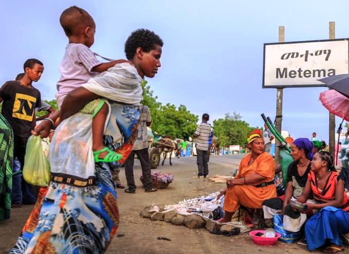Gondar to Metema