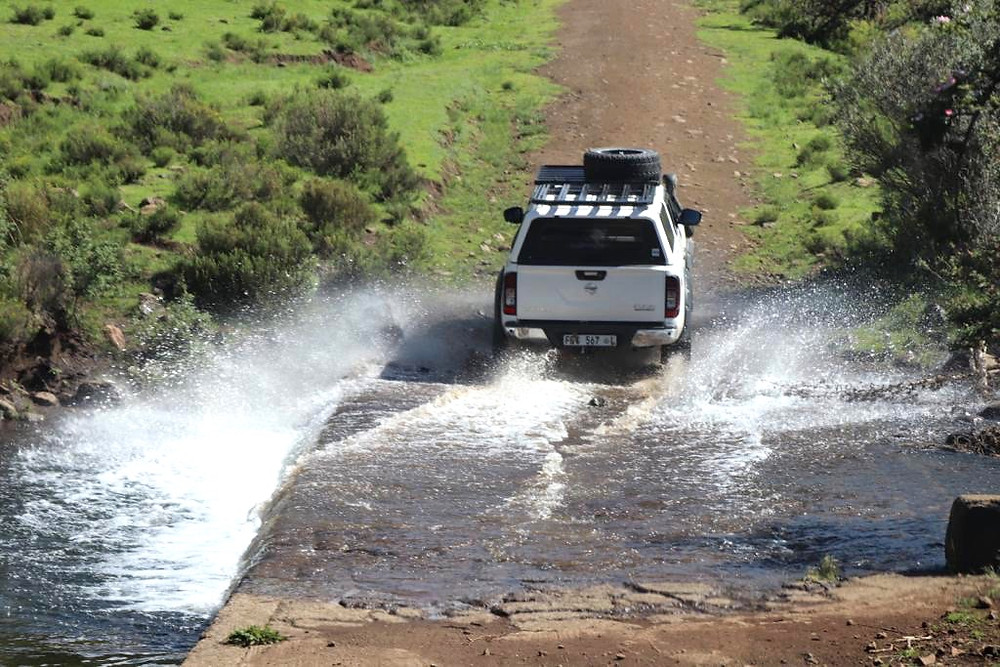 River, bridge, crossing, flood, crossing river, 4x4 tour eastern cape