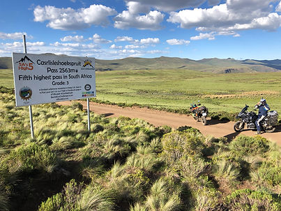 South African adventure motorcycle tour