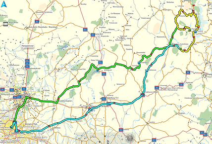 SA Adventure GPS Maps