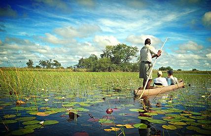 Botswana Mokoro Boat Rides