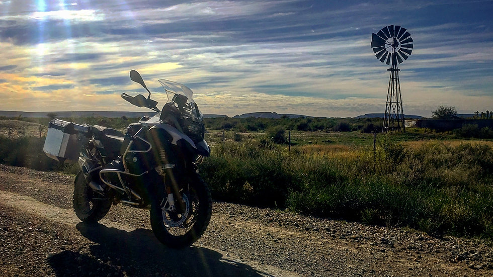 The Karoo is Calling... Adventure Motorcycle Odyssey