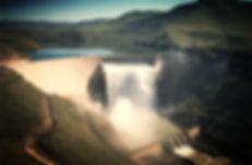 Katse Dam Wall