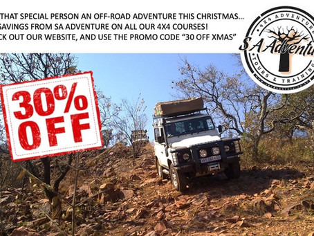 CHECK OUT OUR 4X4 TRAINING CHRISTMAS SPECIAL!