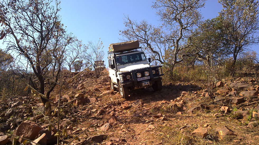 SA Adventure Group Introductory 4x4 Training