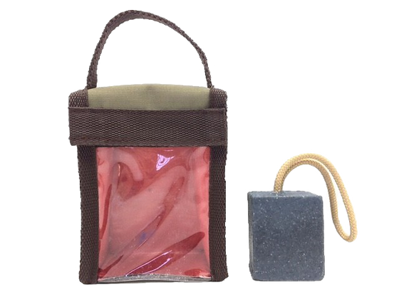 Soap Caddy (includes soap on a rope)