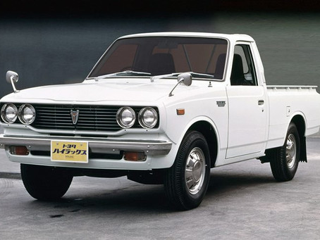 The Toyota Hilux, 2nd Generation
